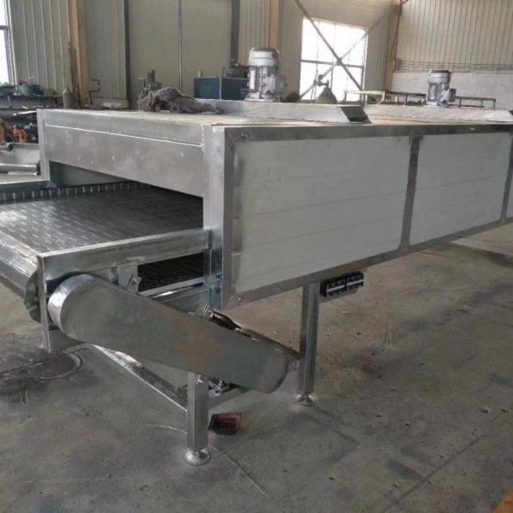 海鲜鱿鱼干货网带输送机 电子产品流水线输送设备 食品加工生产线