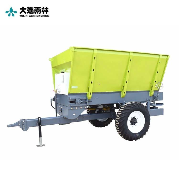 四轮拖拉机带有机肥粪肥撒肥机 农用撒肥机