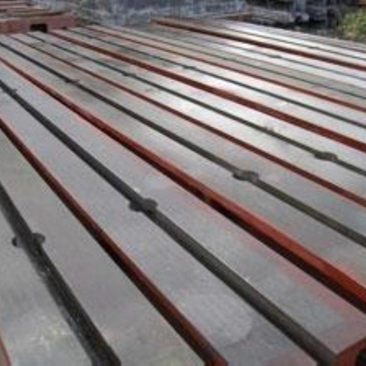 厂家定做地梁式平台 铸铁地轨地梁