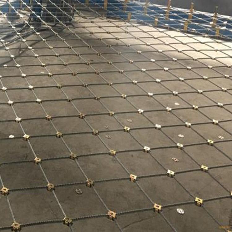 永德防护网厂家 钢丝绳网 热镀锌护栏网厂家直销