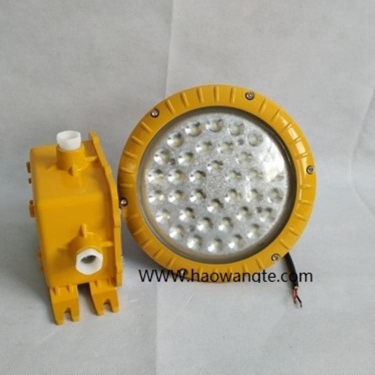 浩旺特供应防眩LED防爆弯杆灯隔爆型应急防爆LED弯灯50W80W100WHBND-A806