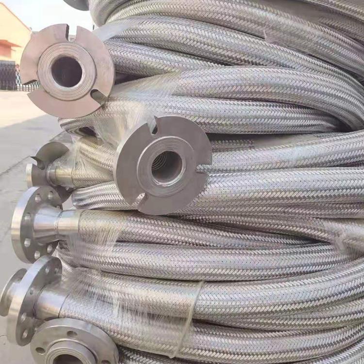 可按需定制 316l法兰连接金属软管 异型金属软管 高温金属软管