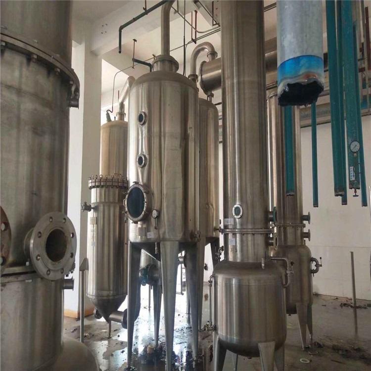 二手蒸发器  污水废水处理降膜蒸发器   三效多效浓缩强循环二手蒸发器