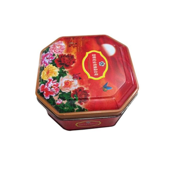 生产包装铁盒厂家批发月饼铁盒单个装月饼礼盒子