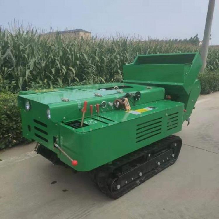 供应35马力履带式田园管理机 果园多功能开沟施肥旋耕回填除草一体机