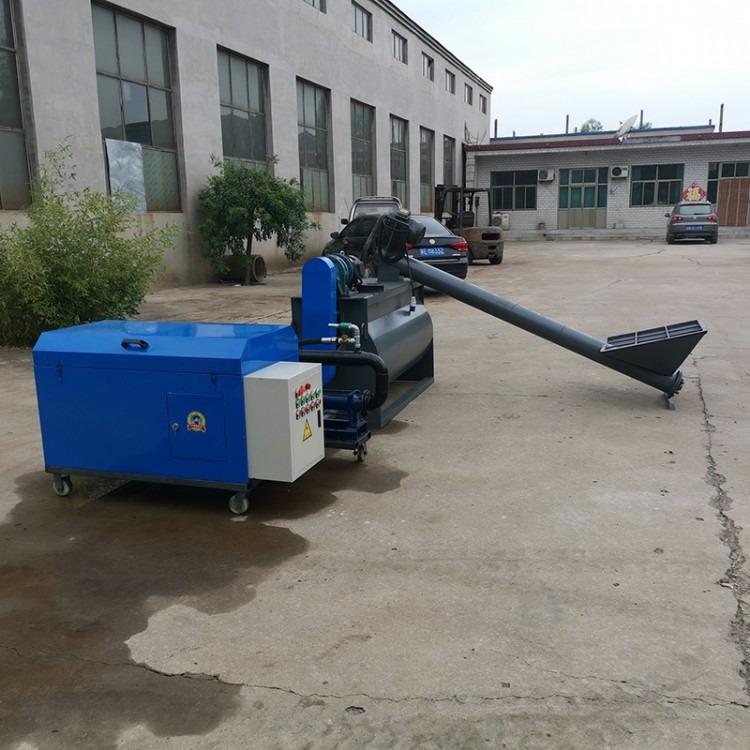地暖垫层水泥发泡机哪家好 华格隆厂家生产各种型号地暖水泥发泡机设备