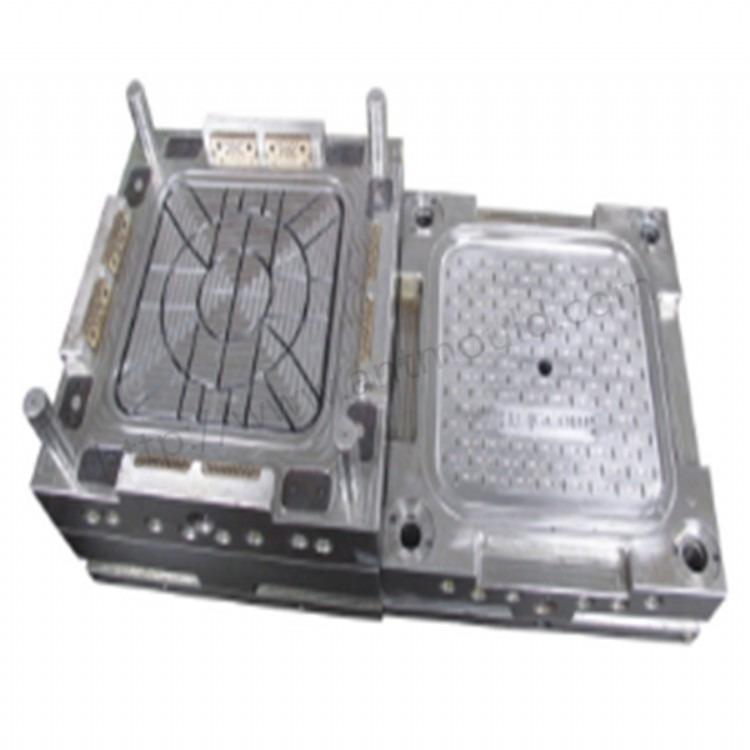 塑料托盘模具网格田字HDPE网状双面模具 开模单层托盘塑胶托盘双层托盘川字形塑料托盘模具加工出模块