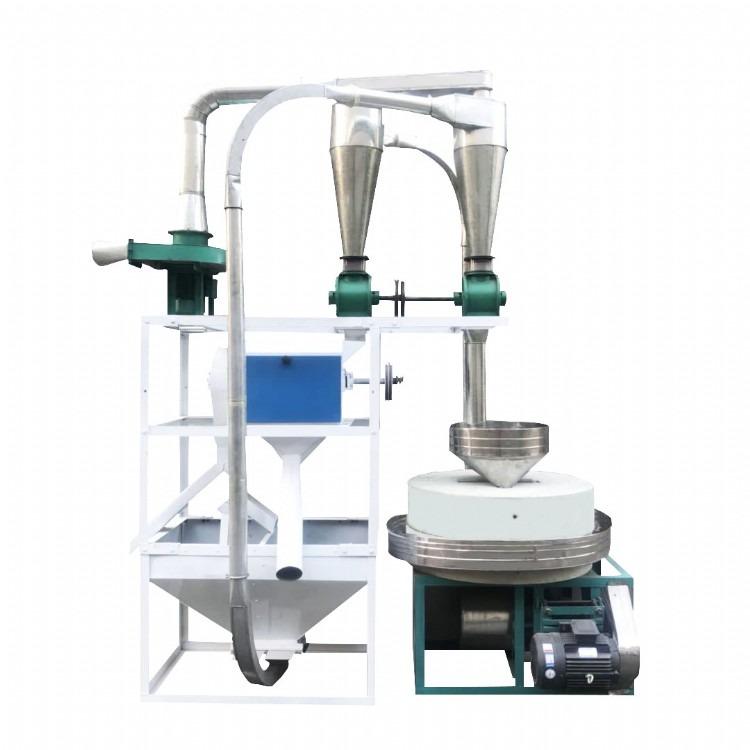 纯天然石磨加工面粉设备保证农作物的原汁原味绿色安全
