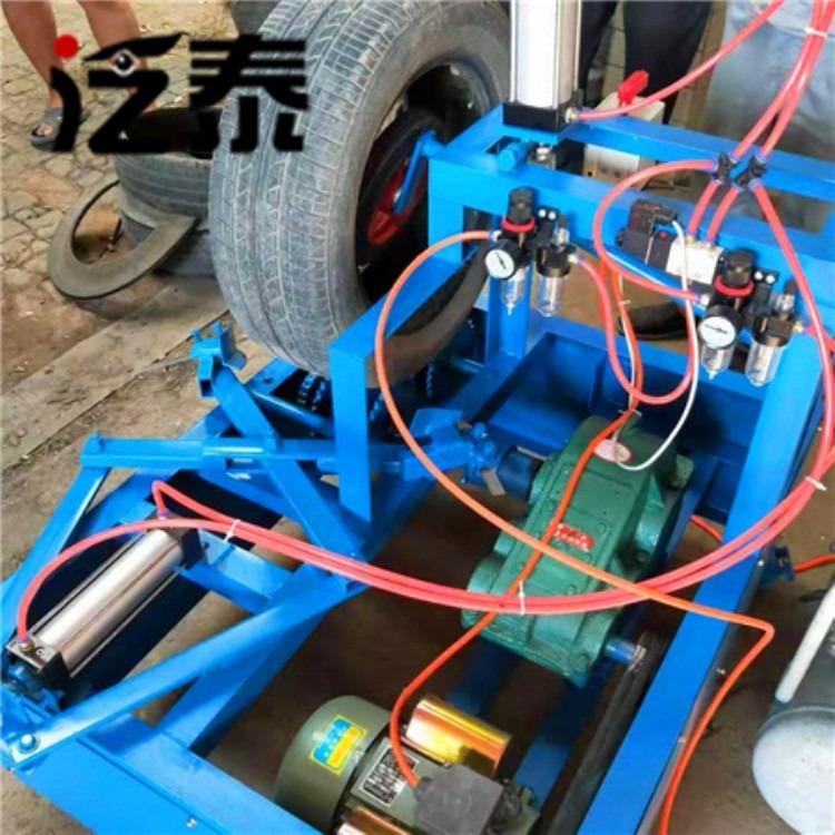 泛泰轮胎切割机一分钟能割多少钱条件怎么选?