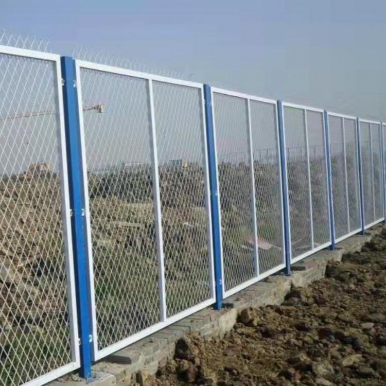 江苏金路护栏厂家直销  果园护栏网防护网三折弯护栏网旅游景区隔离网