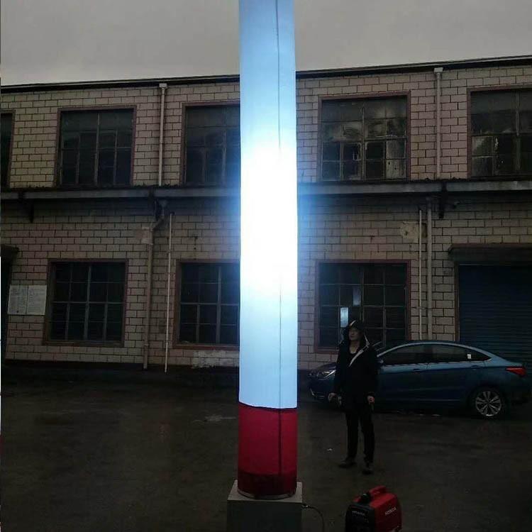 充气式照明灯柱 移动充气灯柱 全方位充气式照明灯柱