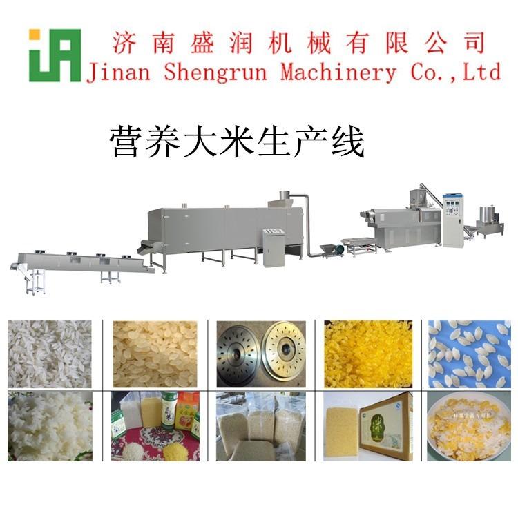 双螺杆营养米生产设备