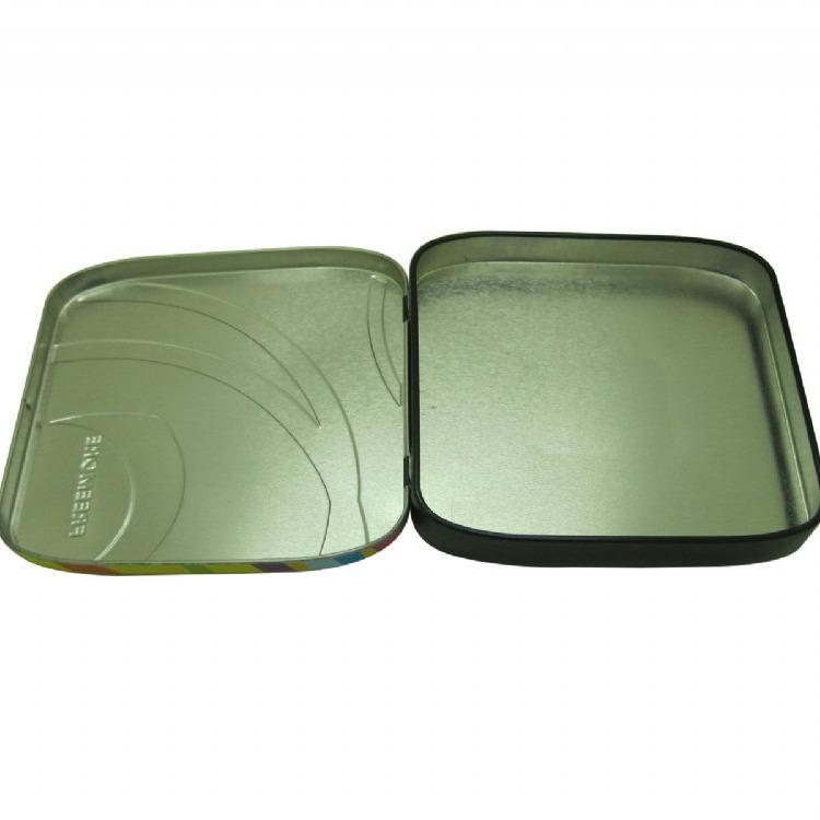 马口铁罐包装厂家直供铁盒子装饰品两片压扣盒