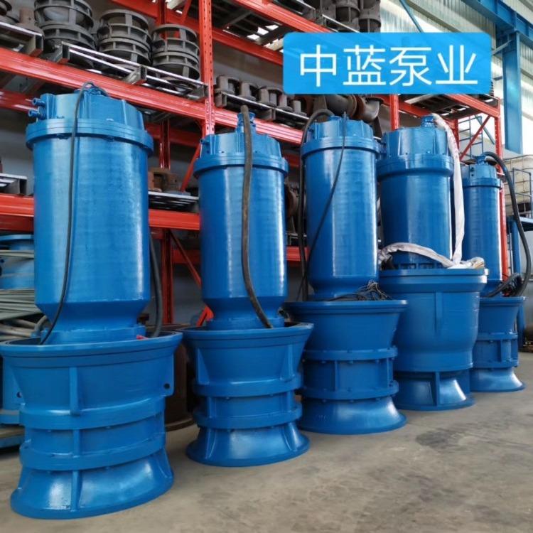 轴流泵厂家  泵站专用潜水轴流泵 潜水轴流泵厂家