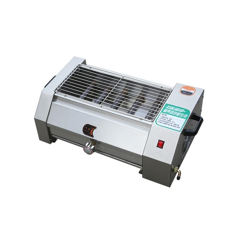 江苏2.4米无烟烧烤炉燃气烤串炉 烤肉串面筋机