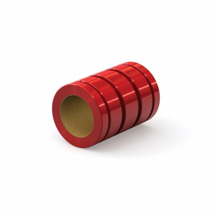 PBC自润滑直线轴承 红色阳极氧化铝外壳 FL-04