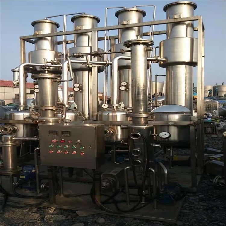 现货供应二手浓缩降膜蒸发器-金益二手设备-优质二手蒸发器厂家直销