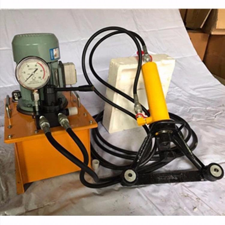 手提式液压钢筋直机 电动钢筋弯曲调直机 分体式钢筋弯曲调直机