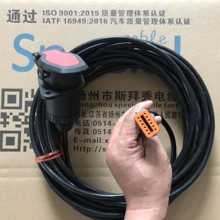 斯拜秀专业生产 电磁阀线束  ABS感应线线束 4S2M等