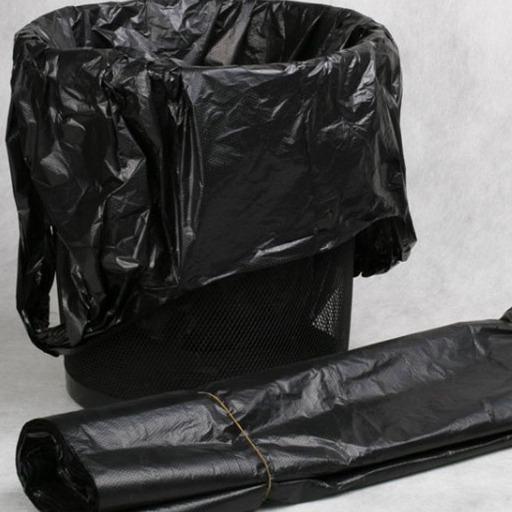 腾坤加厚垃圾袋家用厨房黑色环保手提垃圾袋