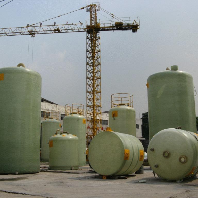 玻璃钢消防储罐 20吨50吨100吨地埋式玻璃钢消防水罐 消防水存储罐