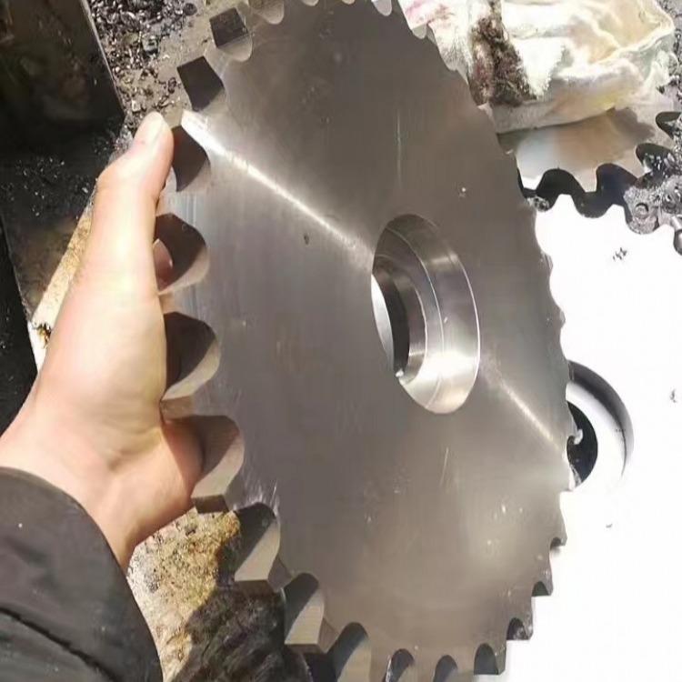 加工定做 机械行业设备传动件链轮 工业链轮 输送机配件链轮尺寸齐全