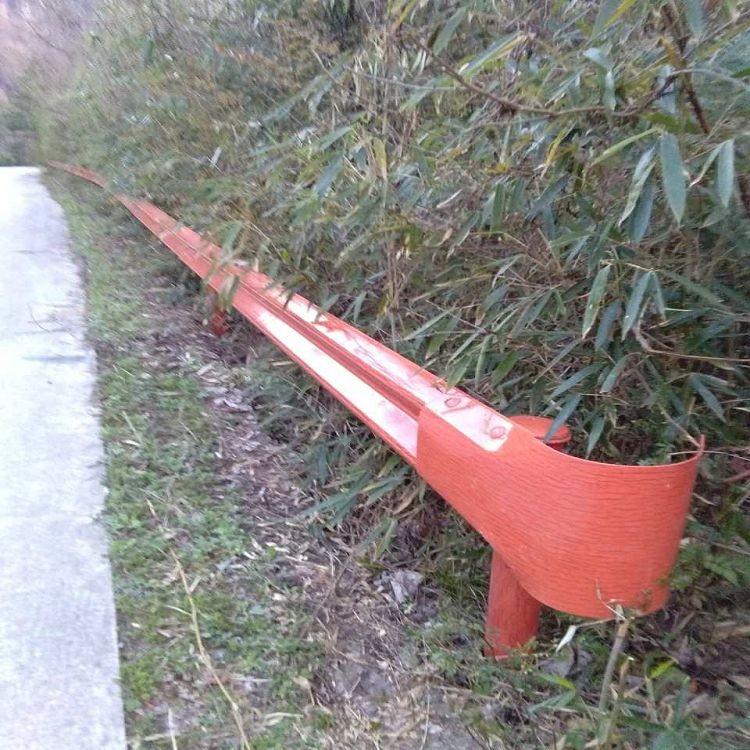 西宁乡村公路护栏厂家 波形钢护栏 乡村公路护栏