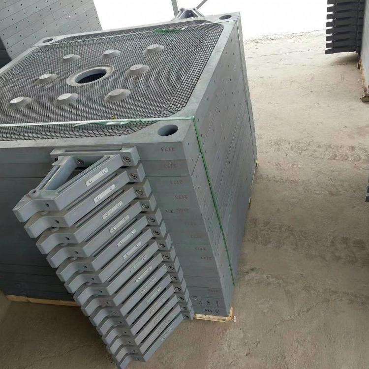 1600型压滤机厢式滤板安装与调试