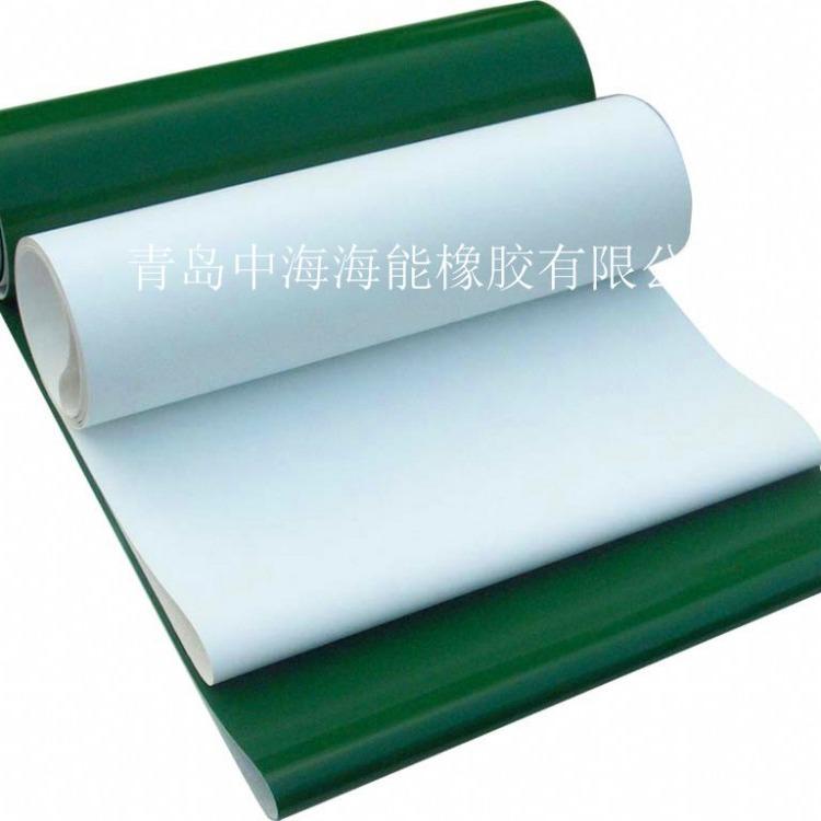 绿色PVC轻型食品输送带 PVC绿色输送带 绿色输送带环形规格