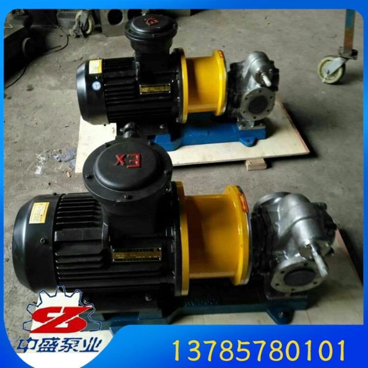 kcb200磁力齿轮泵 化工磁力泵  磁力驱动齿轮泵 低压发泡机齿轮泵 黑白料输送泵 永无泄漏磁力泵