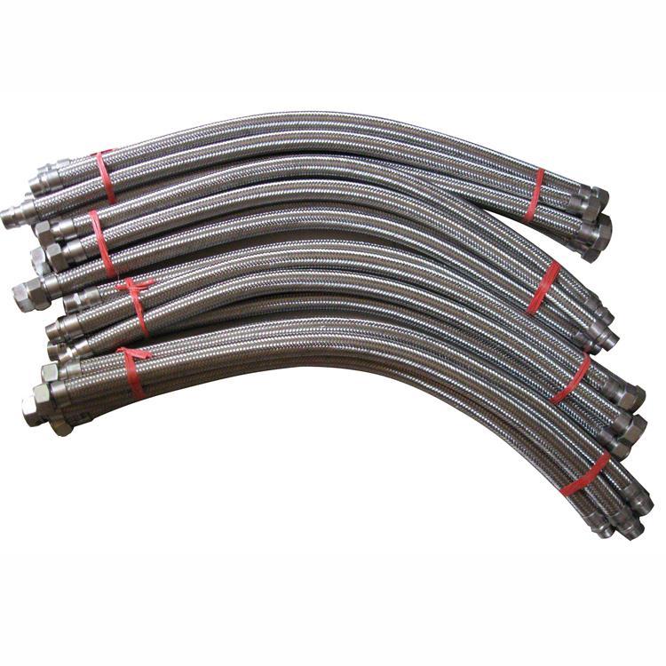 厂家批发 金属软管dn25 不锈钢金属波纹管 防爆金属编织软管