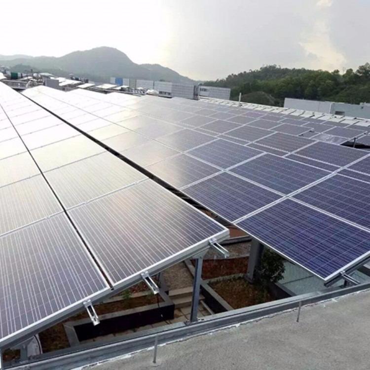 自己家用的太阳能发电设备 自制家用太阳能板发电设备 工厂直销 免费设计方案 25年质保 一站式服务