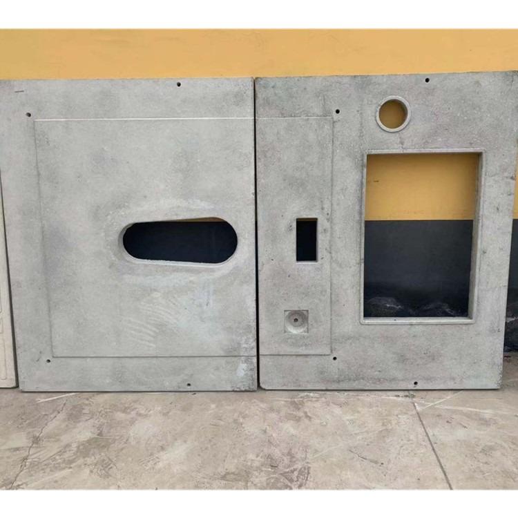 旱厕改造盖板模具 农村改造模具 农村厕所板模具