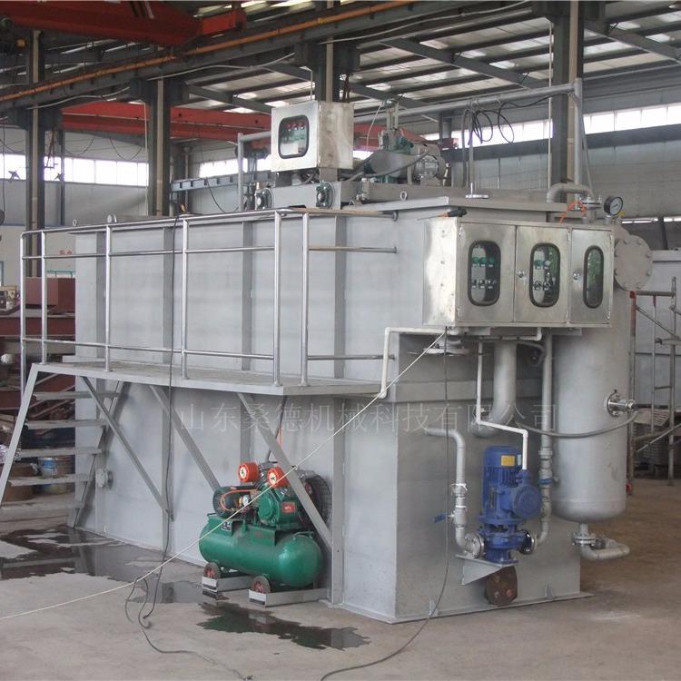 皮革污水处理设备 制革污水处理设备 溶气气浮机