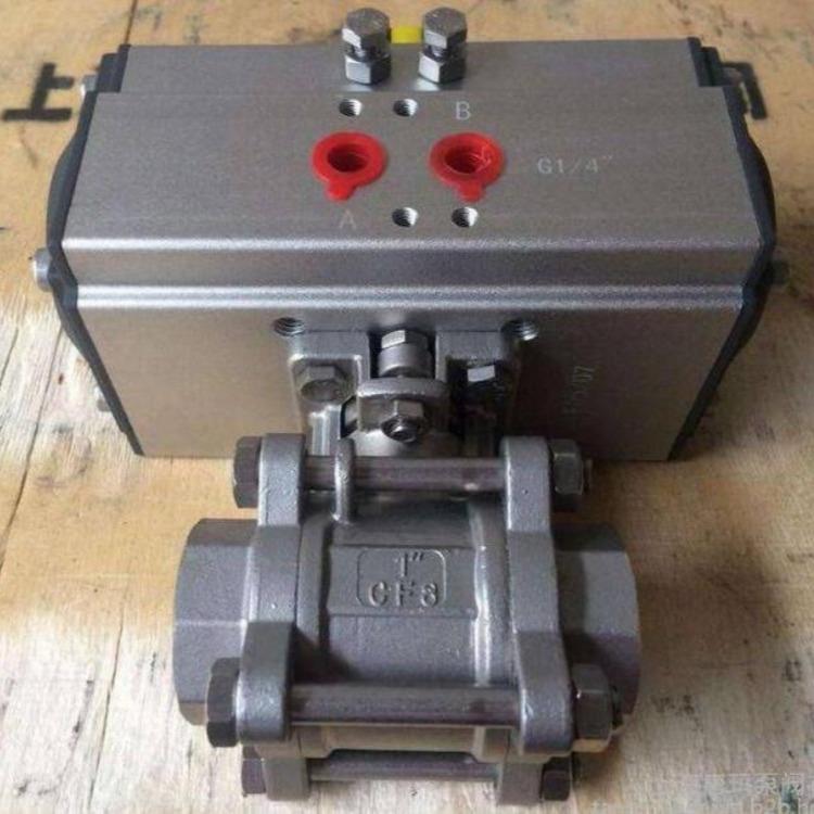 Q661F气动三片式焊接球阀 气动焊接球阀 浙江实力厂家专业球阀