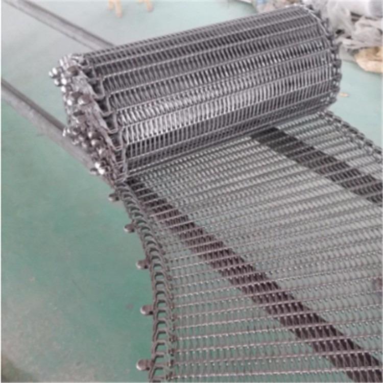 304不锈钢清洗机网链  耐高温输送机网链  链条式网带