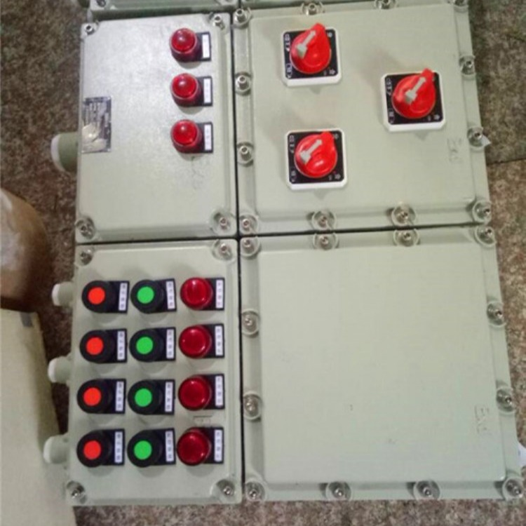 化工厂电机防爆配电箱 化工厂电机防爆控制箱