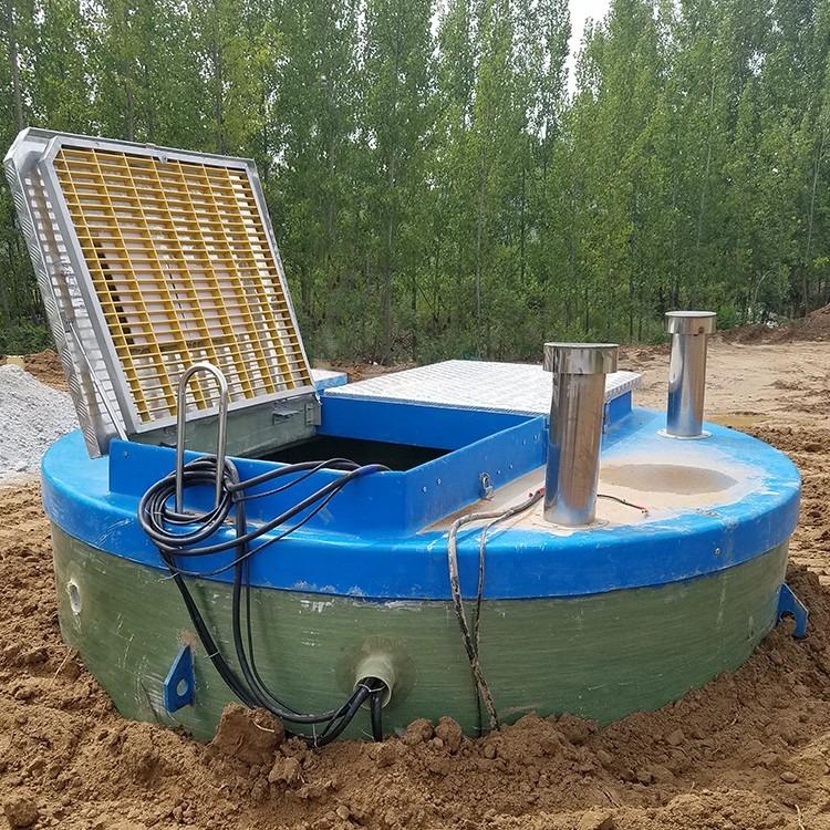 江苏一体化污水排涝预制泵站 大型户外泵站智能预制污水提升泵站现货批发