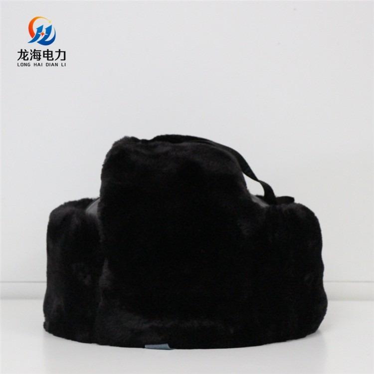 龙海电力 保暖式加棉安全帽 冬季保暖安全帽 耐寒安全帽