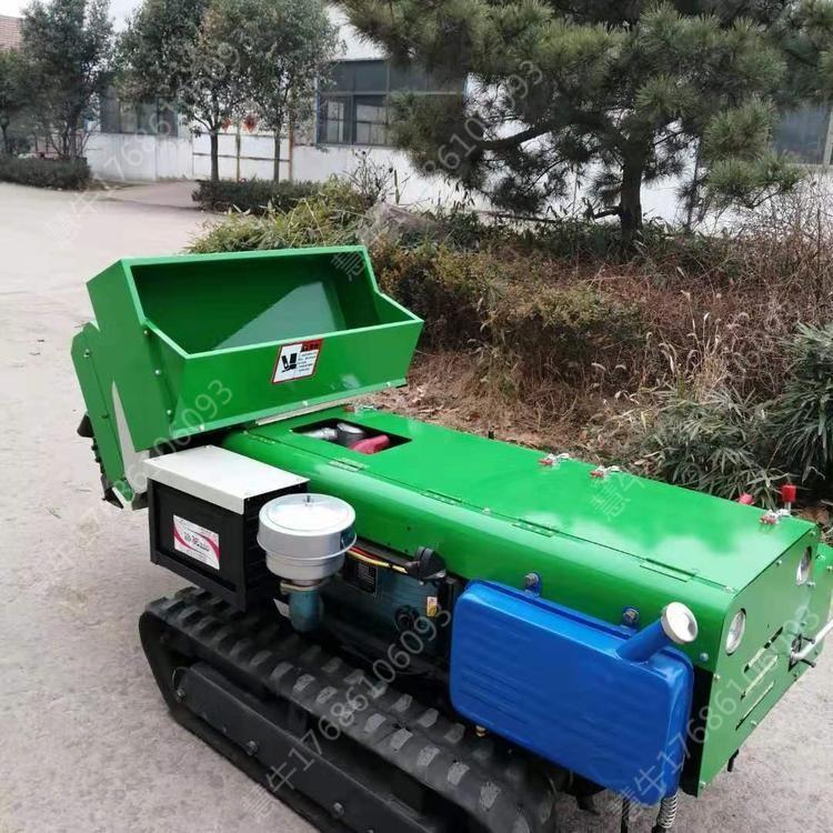 成都履带式旋耕机遥控旋耕机小型履带旋耕机价格