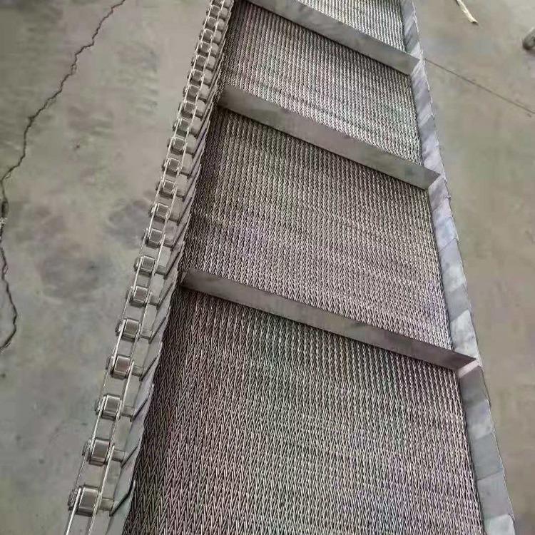烘干耐高温网带输送带清洗沥水不锈钢网带输送带淬火热处理金属网带
