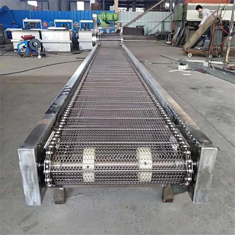 不锈钢网带输送机 食品网带输送机 金属网带