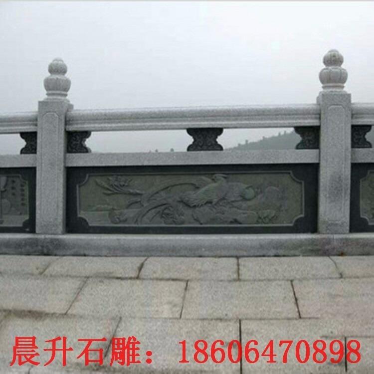 汉白玉栏板 石桥栏杆 青石栏板 汉白玉栏板定制