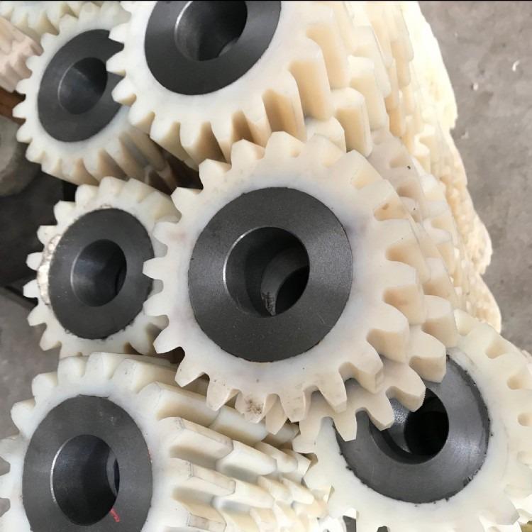 【批发 皮带过渡轮 主动轮从动轮  直径80mm组装线尼龙托轮