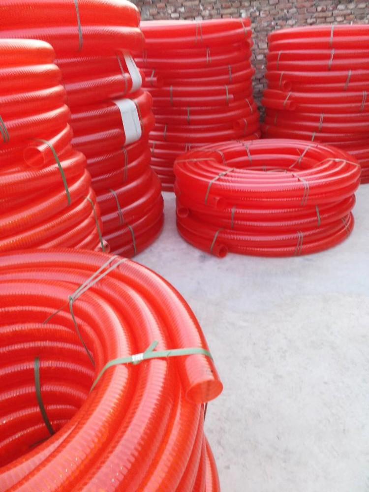 PVC螺旋管  PVC螺旋塑筋管  工业用软管  厂家直销