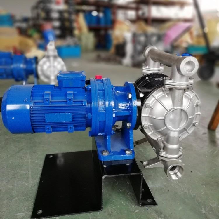 DBY不锈钢电动隔膜泵  耐腐蚀隔膜泵厂家