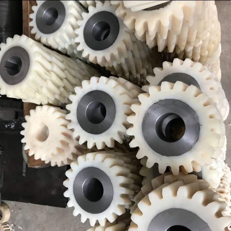 厂家直销 定做输送带链轮 输送设备齿轮 塑料链轮 网带齿轮