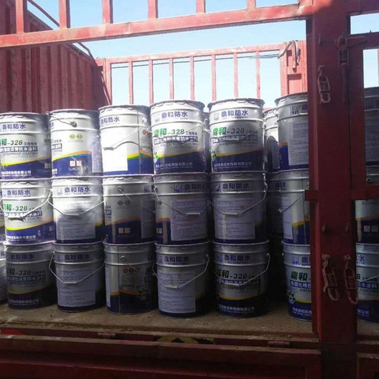 加长储存期 非固化橡胶沥青防水涂料,水池防水涂料,自愈性非固化防水涂料 鼎和加工