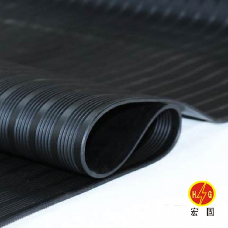 宏固电气供应高压绝缘胶板10kv 绝缘胶垫橡胶板35kv 低压配电机房绝缘胶板5mm