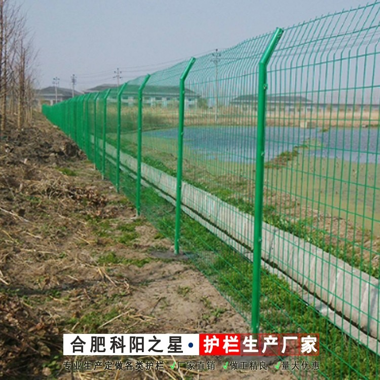 六安铁丝网勾花网护栏安装